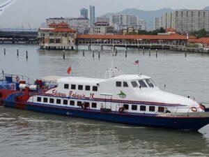 super fast ferry penang island to langkawi island - express bahaga