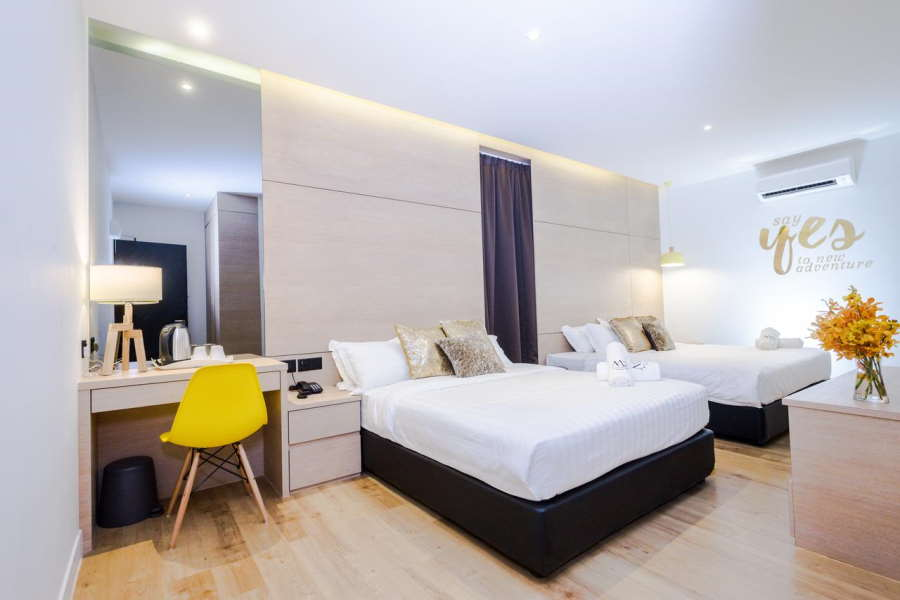 the m2 looks comfortable for a budget hotel under RM100 in malacca
