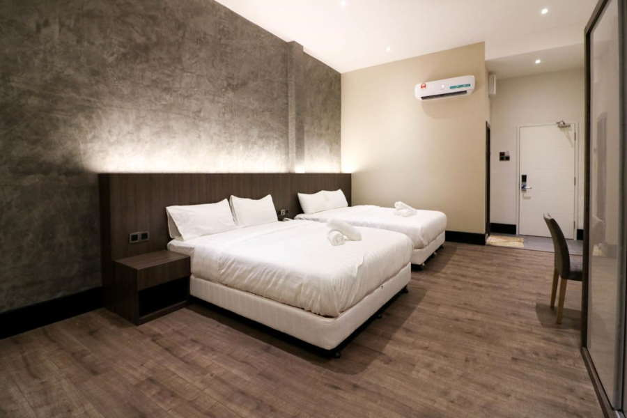 muk by victoria home has one of the most modern vibe to it in melaka for a budget accomodation